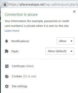 Certificat de securitate